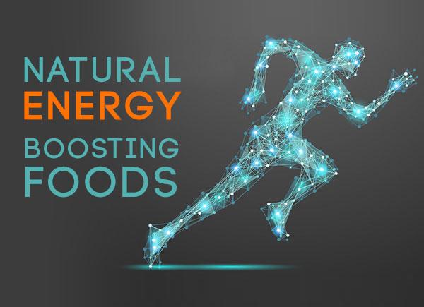 natural energy boosting foods